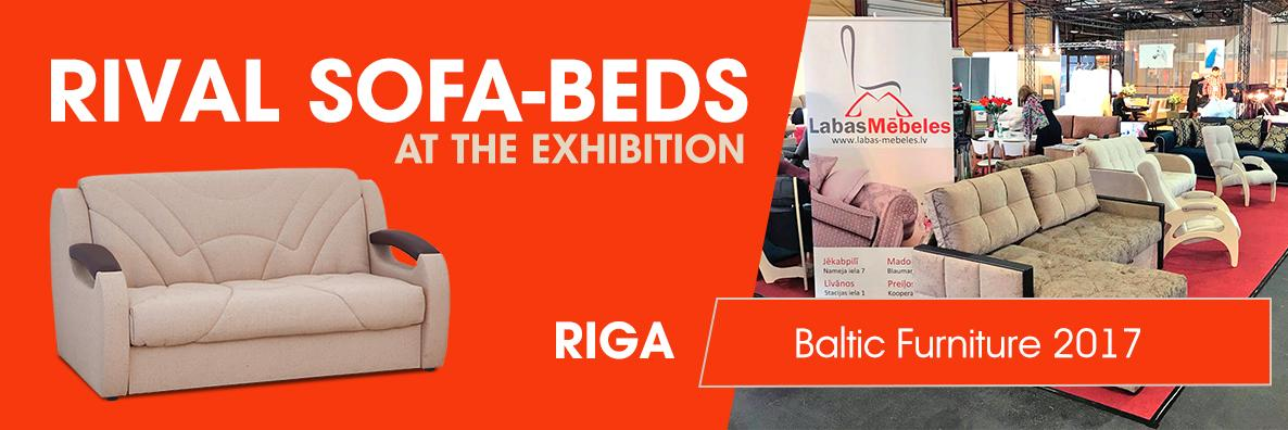 Rival sofas at Baltic Furniture 2017